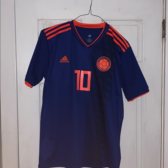 reputable site 6d8d8 60e51 James Rodriguez Colombia World Cup Soccer Jersey